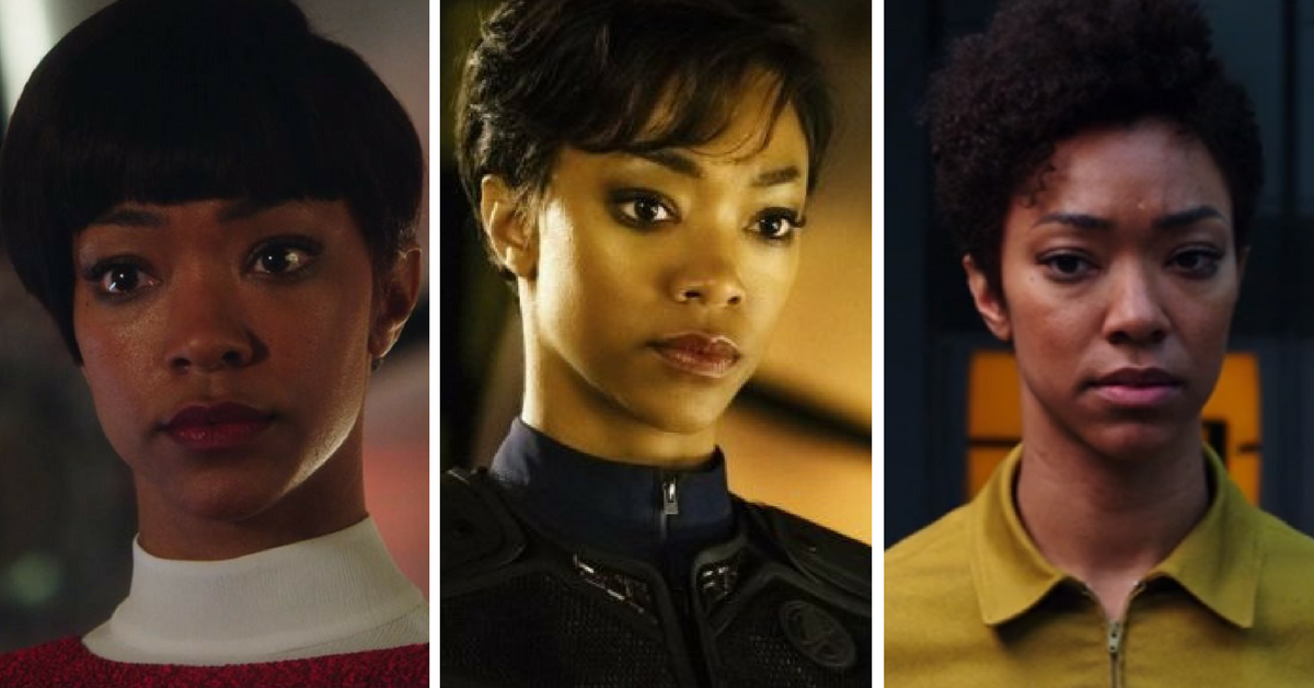 Star Trek Discovery Lead Actor S Hair Styles Tell A Story Dc