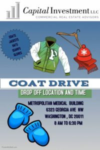 Neighborhood Coat Drive @ Metropolitan Medical Building | Washington | District of Columbia | United States