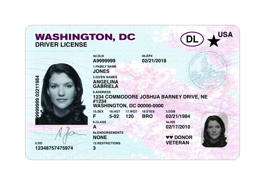 – Northstar License- Front Dc