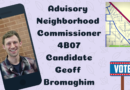Meet Geoff Bromaghim, Candidate for ANC 4B07 Commissioner