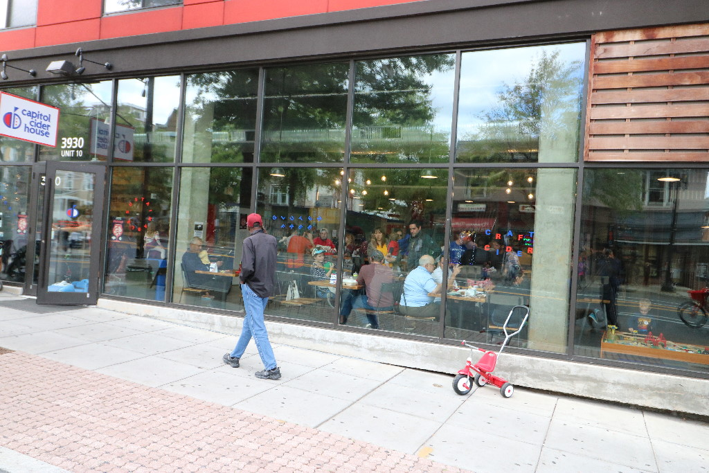 Open Streets DC Cider Bar
