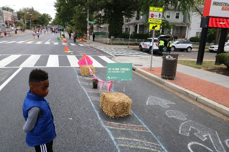 Open Streets DC Bike Lane