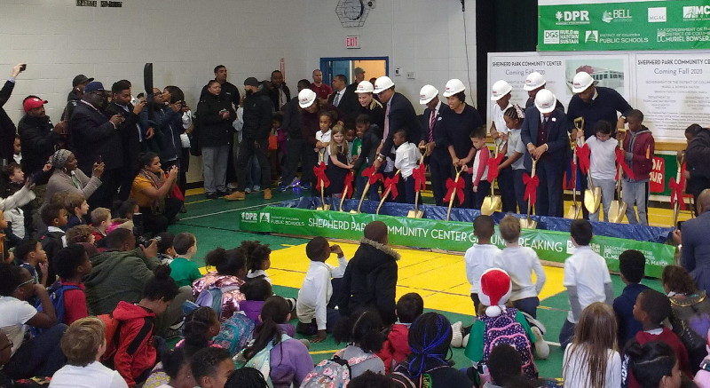 Shepherd Park Community Center Groundbreaking