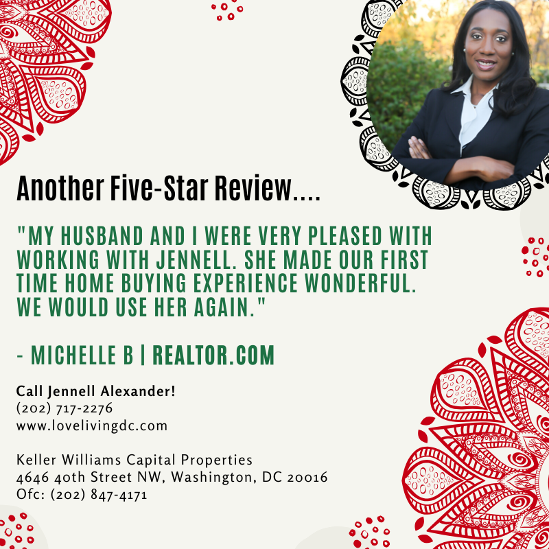 Jennell Alexander | 4646 40th St NW, Suite 100, Washington, DC 20016 |(202) 717-2276