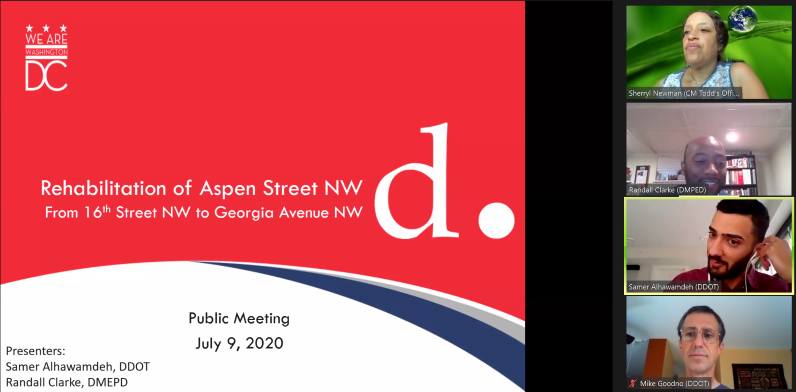 Aspen Street Reconstruction Meeting