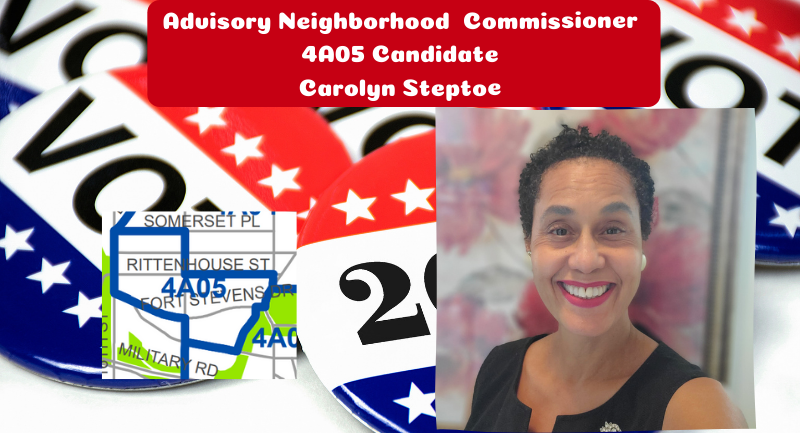 Carolyn Steptoe for ANC 4A05