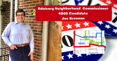 Joe Brennan for ANC 4B05