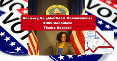 Tischa Cockrell for ANC 4B09