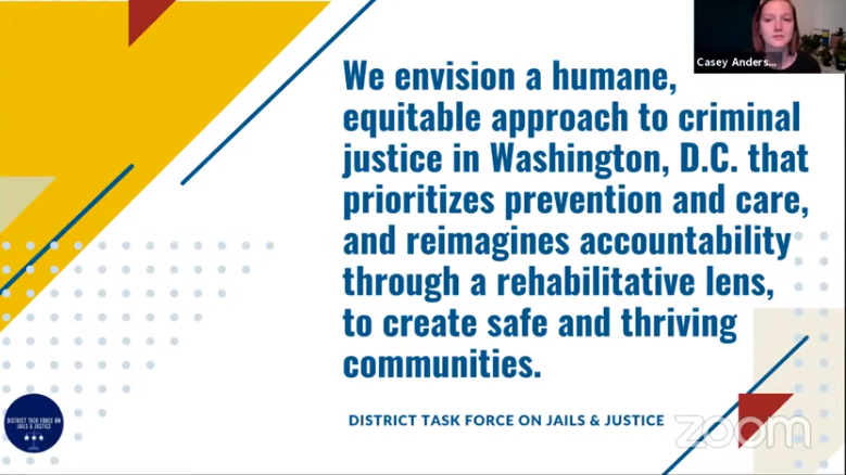 District Task Force for Jails and Justice